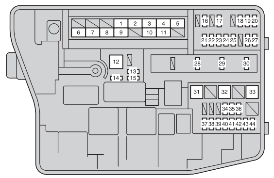 2012 Toyota Highlander Fuse Box In Addition Fuse Box Wiring Diagram