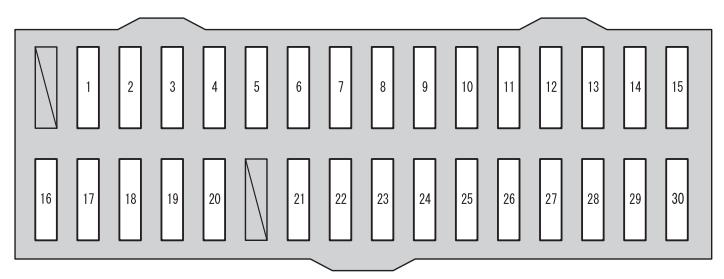 Toyota RAV4 (XA40; 2012 - 2014) -fuse box diagram - Auto Genius
