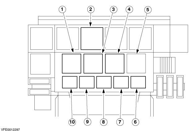 Ford Bantam (2002 -2011) - fuse box diagram - Auto Genius