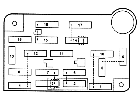1996 lincoln town car fuse panel diagram