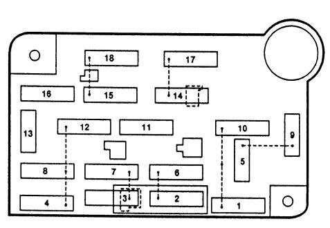fuse box diagram 1997 lincoln town car