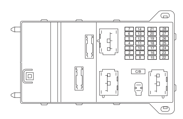 Lincoln MKZ (2005 - 2010) - fuse box diagram - Auto Genius