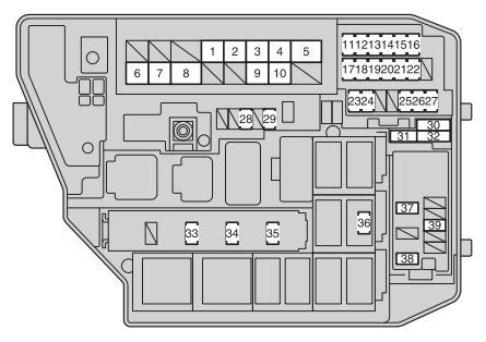 2013 Toyota Corolla Fuse Diagram Wiring Diagram