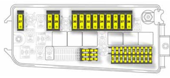 Fuse Box Layout Vauxhall Corsa Opel corsa utility fuse box diagram
