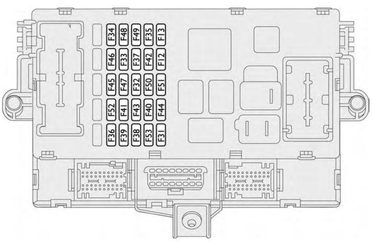 Fiat Croma Fuse Box circuit diagram template