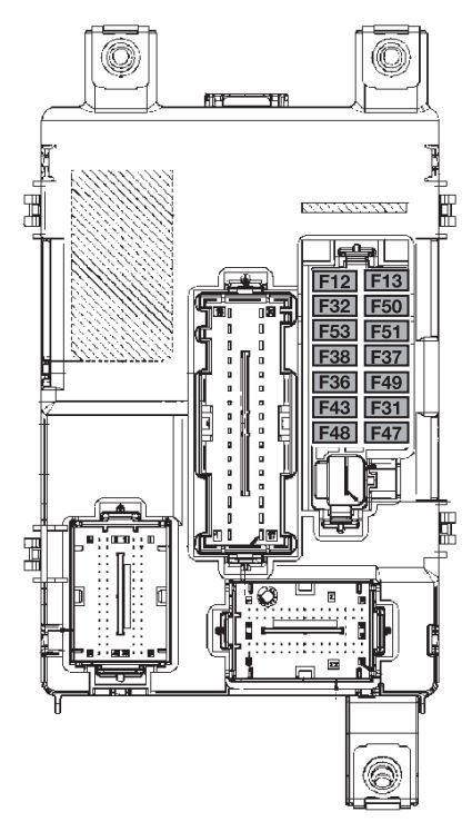 1995 ford f53 engine fuse box diagram