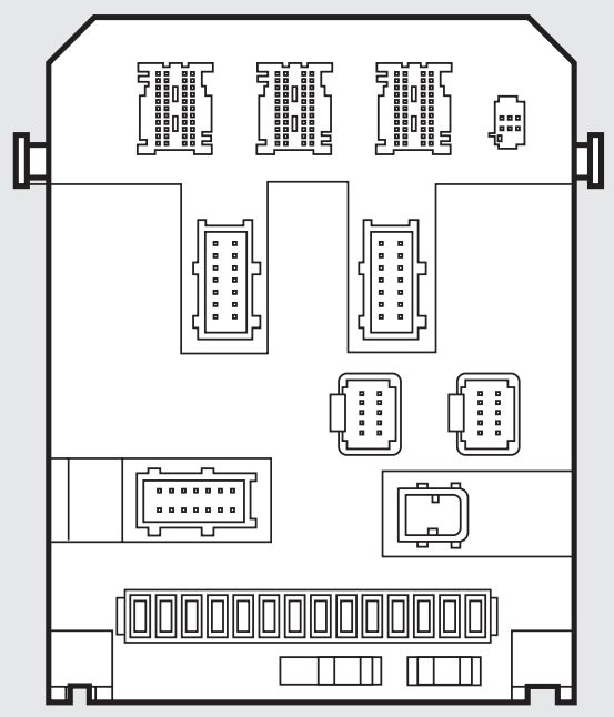 Fiat Scudo mk2 (2006 - 2016) - fuse box diagram - Auto Genius