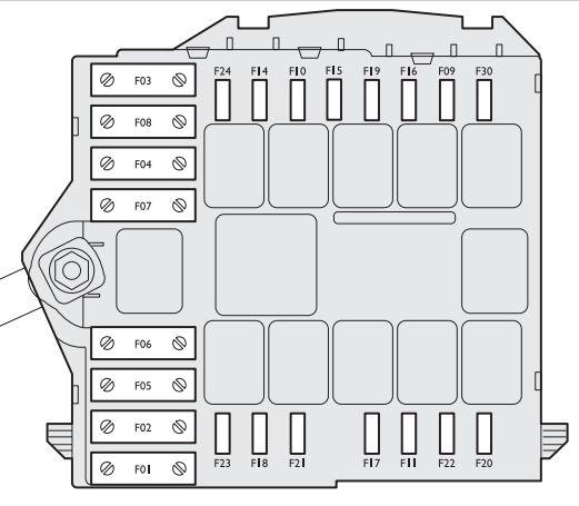 Alfa Romeo Brera (2005 - 2010) - fuse box diagram - Auto Genius
