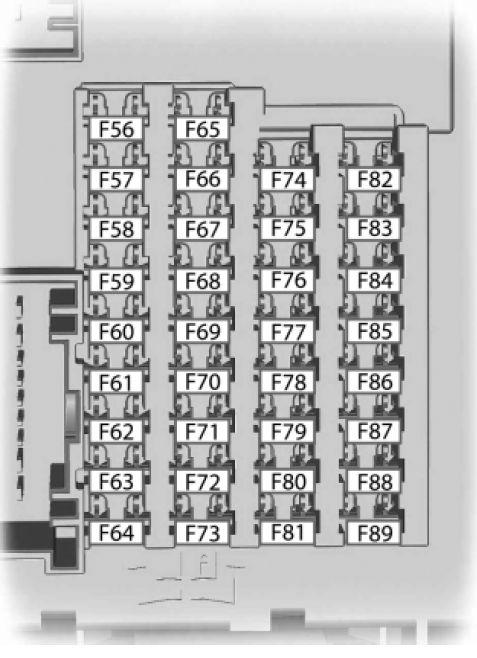 Ford C-MAX Hybrid/Energi (2013) - fuse box diagram - Auto Genius