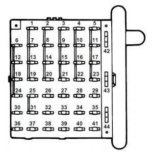 ford e 150 fuse box diagram