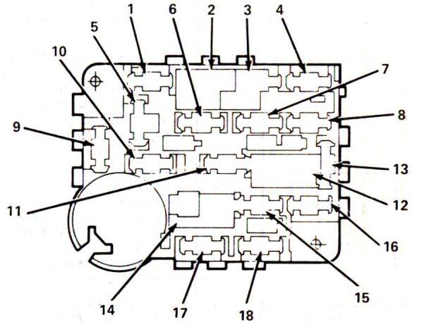 1984 buick fuse box diagram