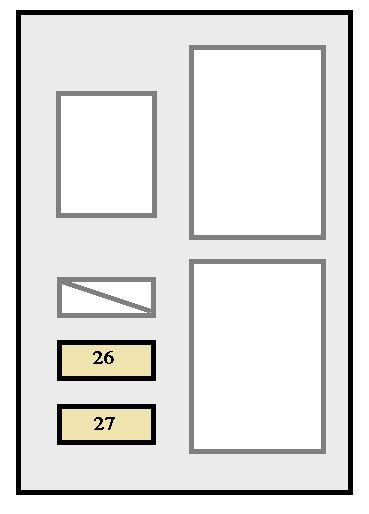 Toyota Avalon (2000 - 2002) - fuse box diagram - Auto Genius
