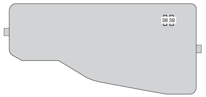 Toyota Camry (from 2012) - fuse box diagram - Auto Genius
