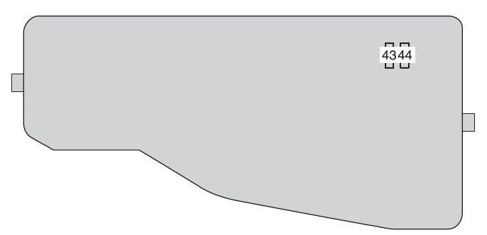 Toyota Camry Hybrid (from 2012) - fuse box diagram - Auto Genius