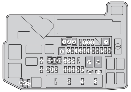 2011 Prius Fuse Box - Wiring Data Diagram