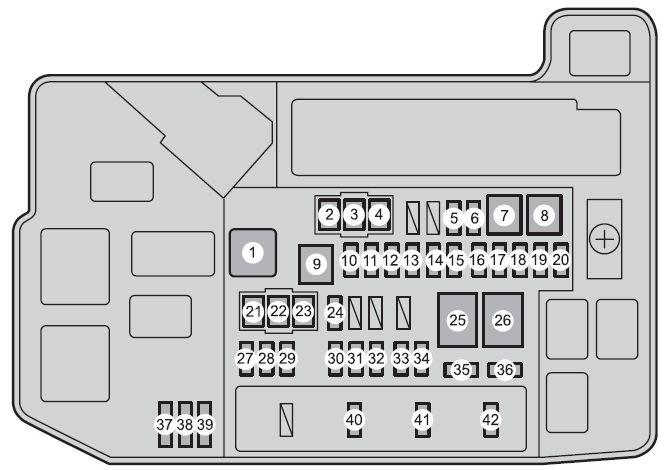 08 yaris fuse box diagram
