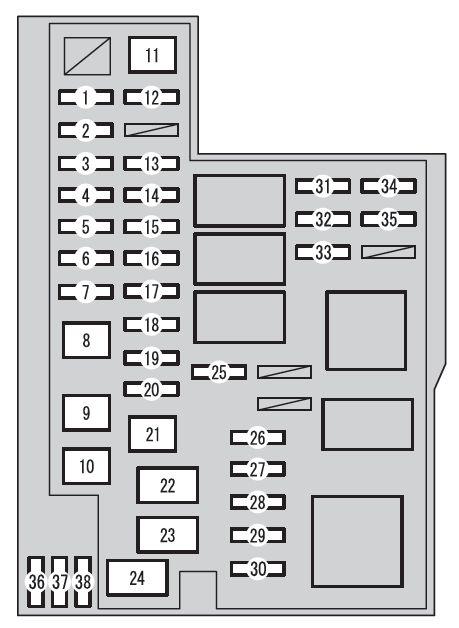 2007 Ford Fuse Box Toyota Rav4 Xa40 From 2015 Fuse Box Diagram Auto Genius