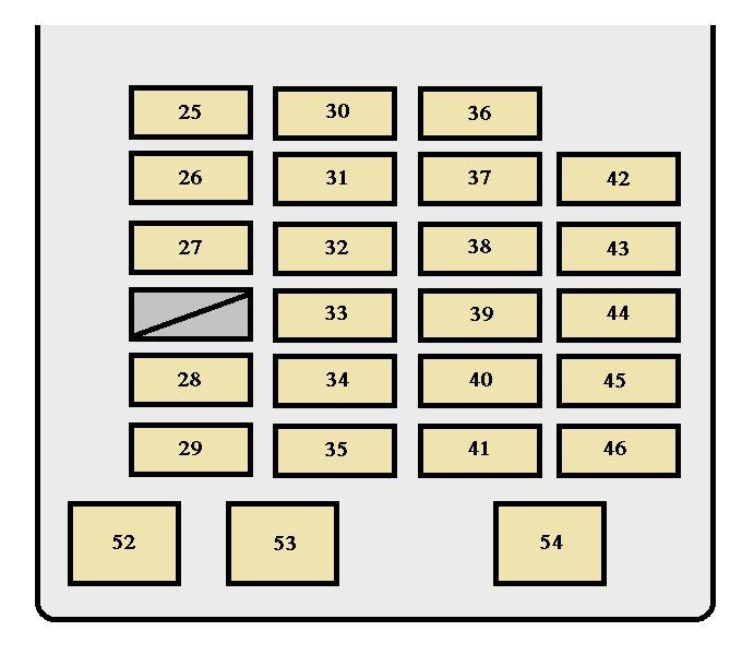 Toyota Sequoia (2001 - 2002) - fuse box diagram - Auto Genius