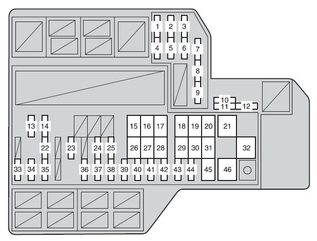2009 Toyota Sienna Fuse Diagram Wiring Diagram