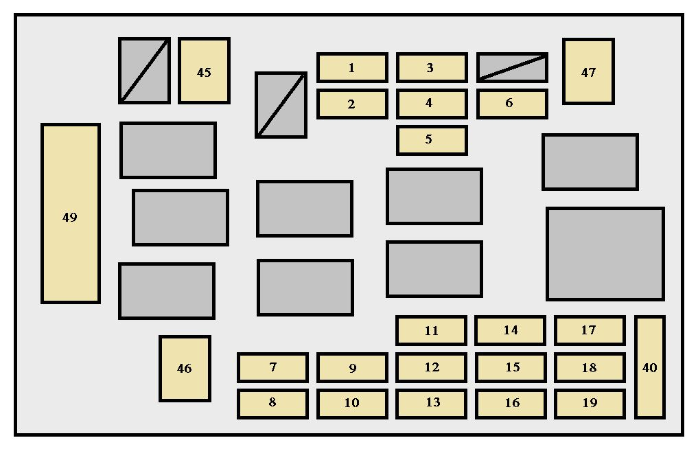 For 91 Celica Fuse Box circuit diagram template