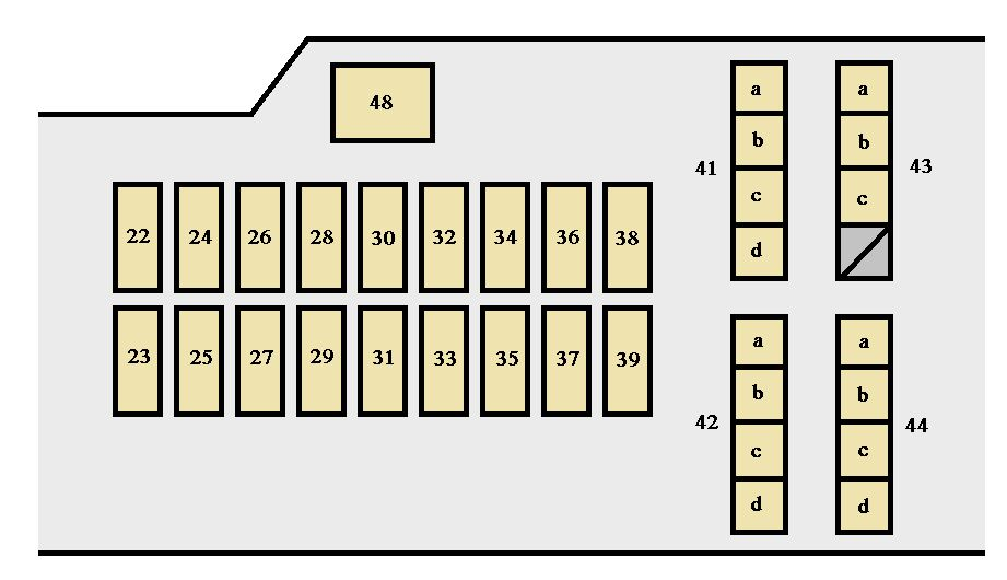 2001 Toyota Celica Fuse Box Diagram - Data Wiring Diagram Update
