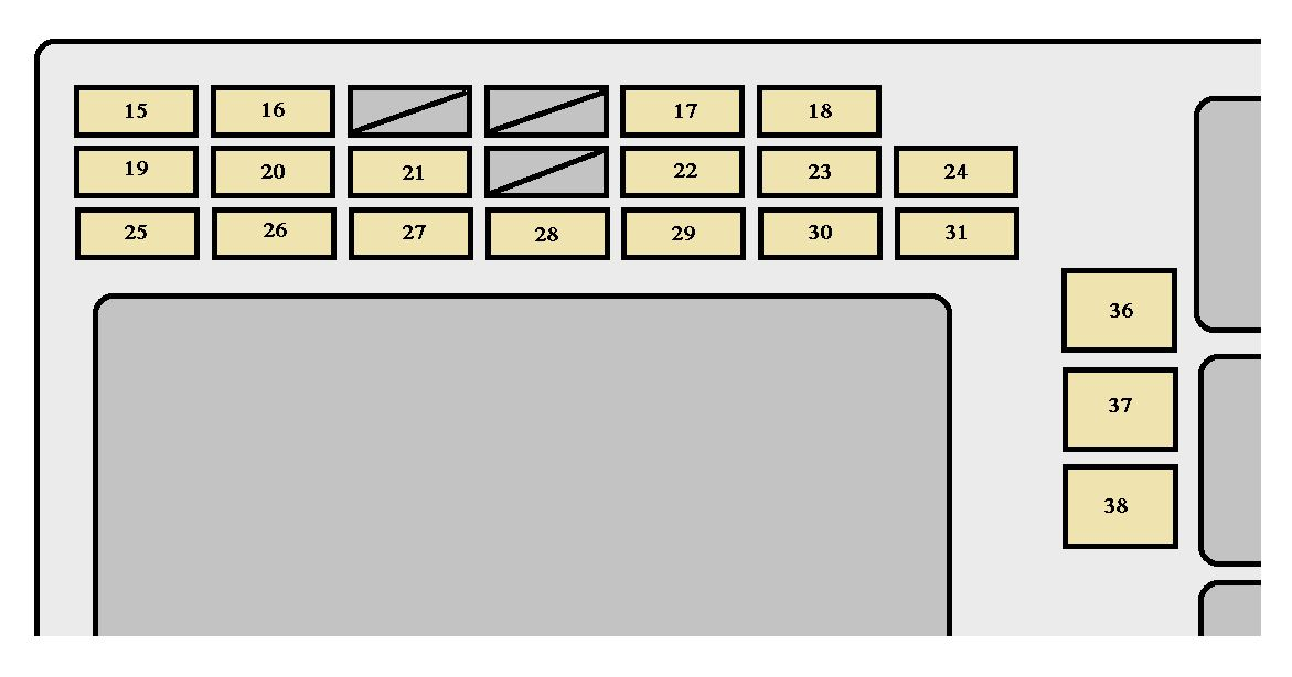 2004 mpv fuse box diagram