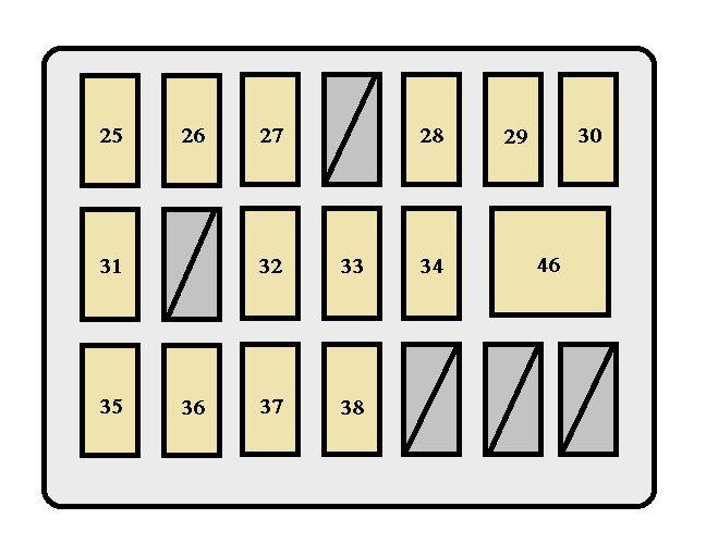 Toyota Tacoma (2005 - 2008) - fuse box diagram - Auto Genius