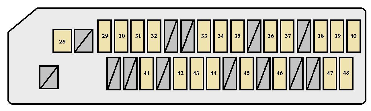 Scion tC (2004 - 2010) - fuse box diagram - Auto Genius