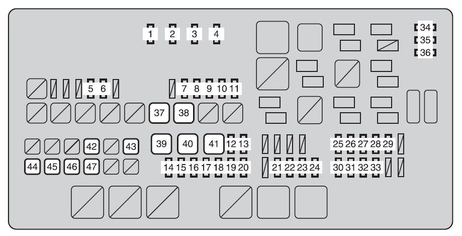 Tundra Fuse Box Diagram - Wiring Diagrams Clicks