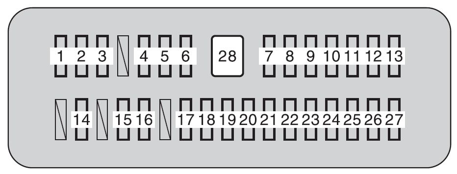 Toyota Tundra (2010) - fuse box diagram - Auto Genius