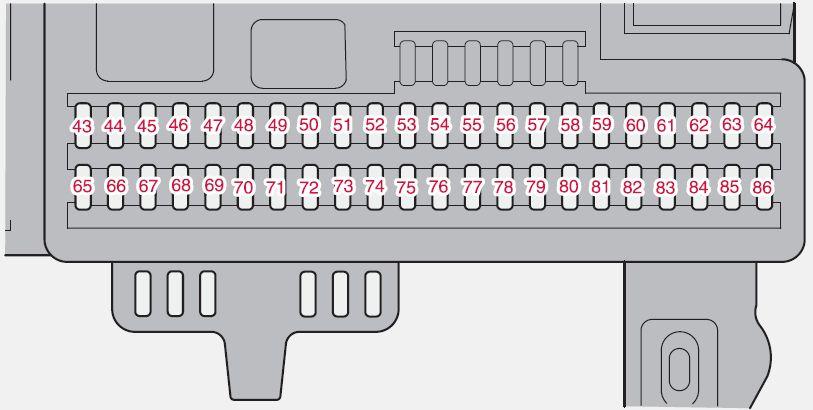 Volvo C30 (2009) - fuse box diagram - Auto Genius