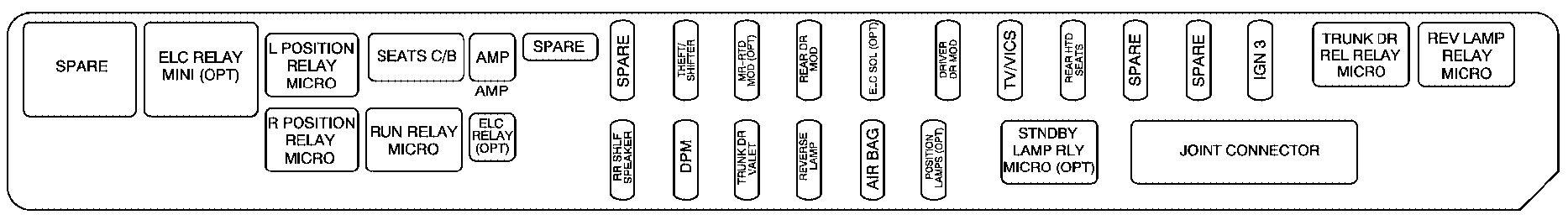 2006 Cadillac Sts Fuse Box Wiring Diagram