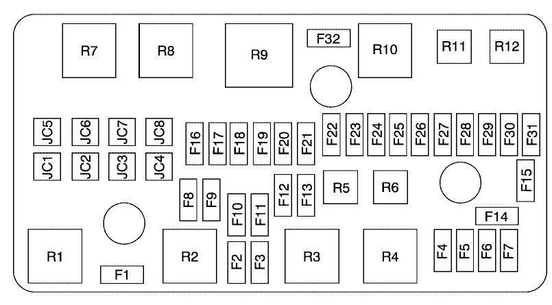 2007 Cts Fuse Box - Wiring Diagram Progresif