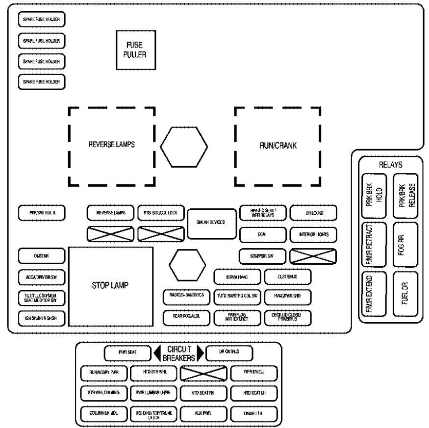 2004 cadillac xlr wiring diagram