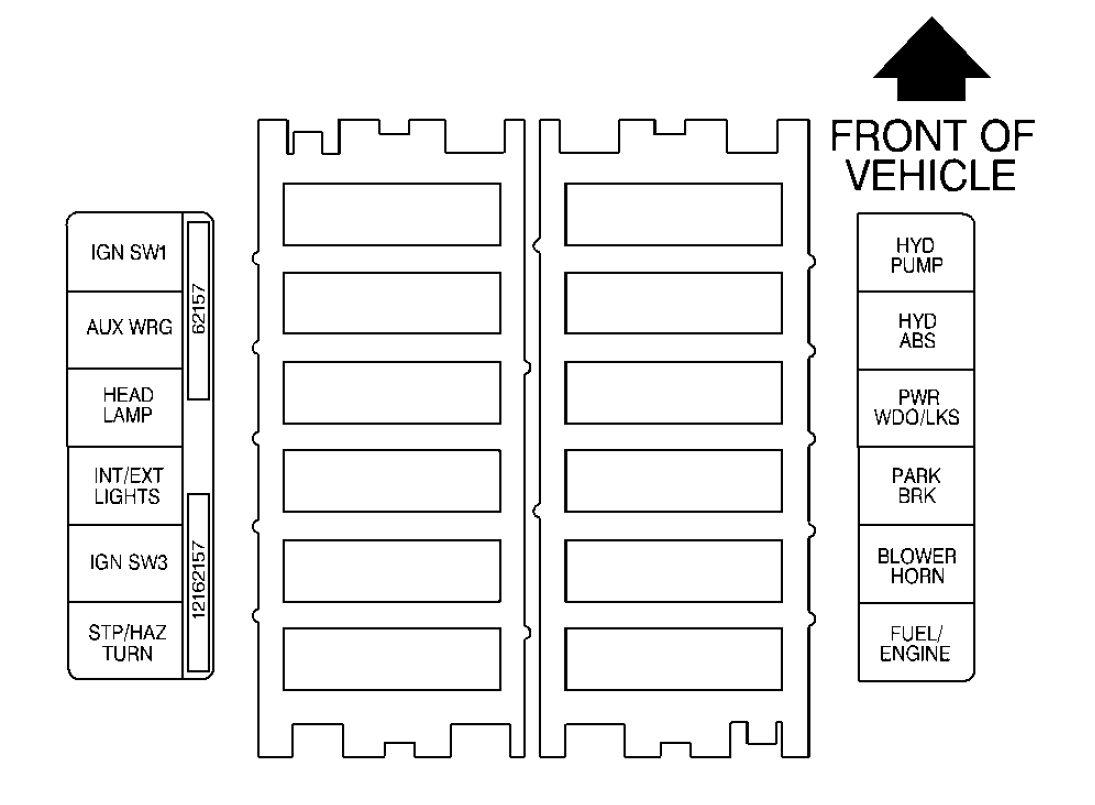 peugeot boxer van fuse box diagram
