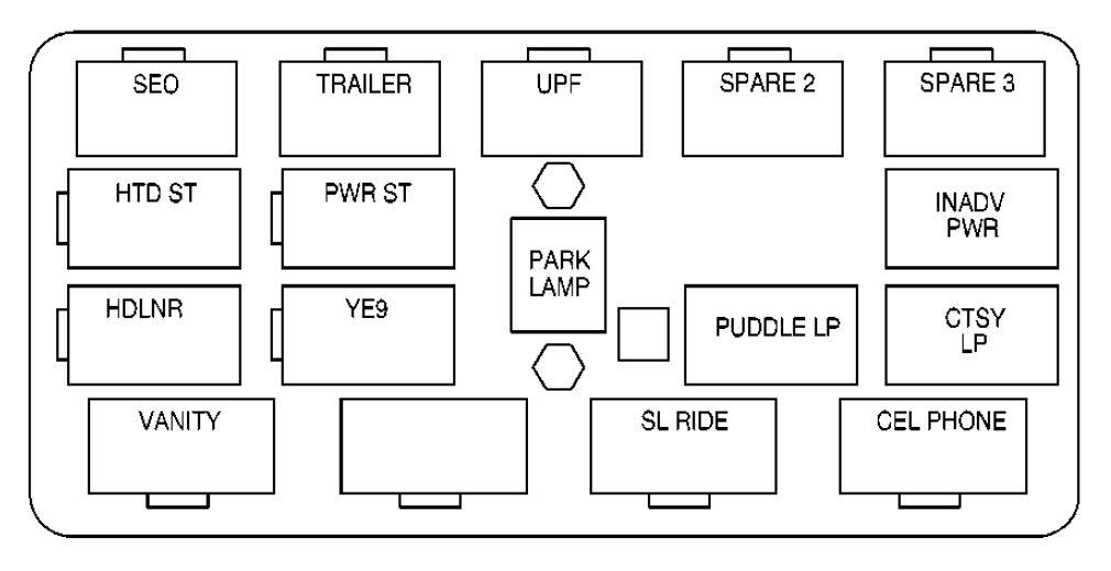 2004 infiniti i35 fuse box diagram