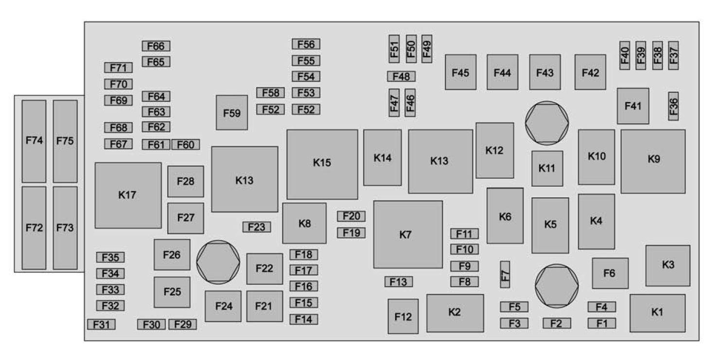 11 ford fusion fuse box diagram