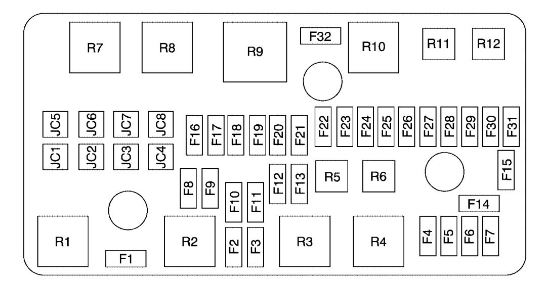Fuse Box On Buick Rainier Wiring Diagram