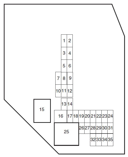 Ford Ranger (2010 - 2011) - fuse box diagram - Auto Genius