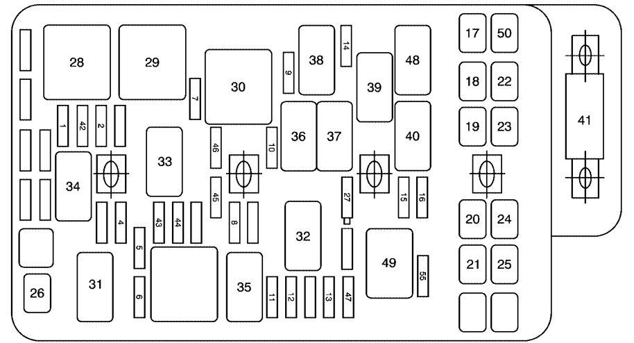 saturn astra fuse diagram