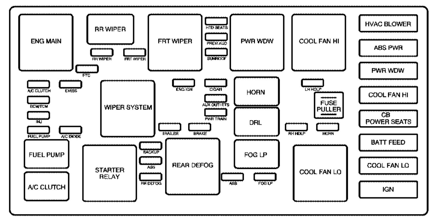 2004 mercedes ml350 fuse box diagram