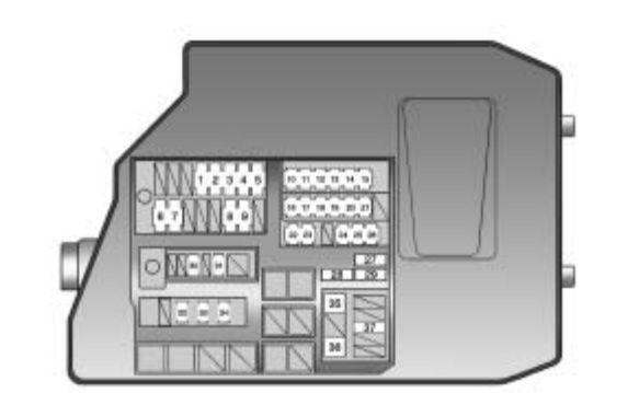 Pontiac Vibe (2010) - fuse box diagram - Auto Genius