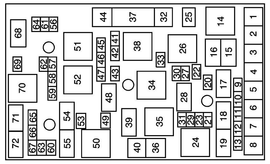 saturn fuse box diagram 1999 sl2