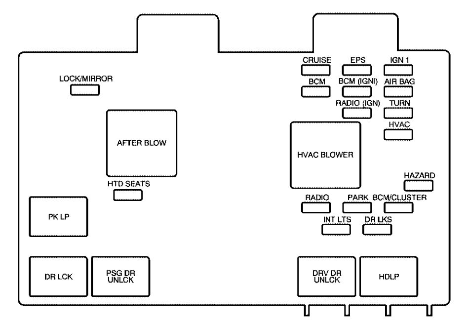 2003 saturn ion relay diagram