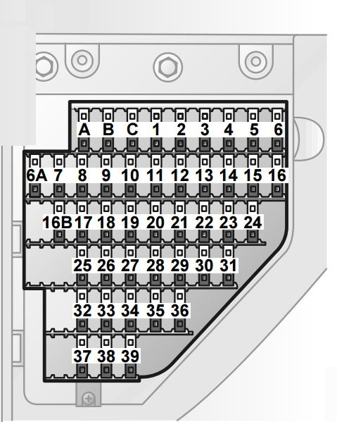2003 Saab 9 3 Fuse Box Wiring Diagram