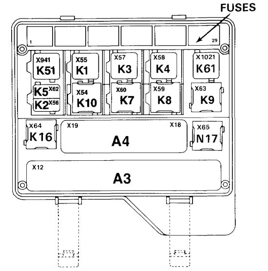 E32 Fuse Diagram - Wiring Data Diagram