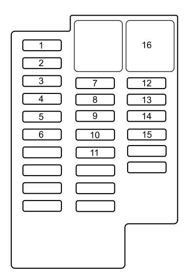 MAZDA 2 FUSE BOX DIAGRAM - Auto Electrical Wiring Diagram