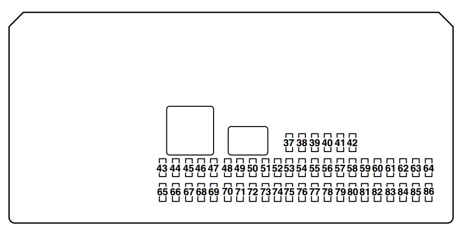 06 Mazda 3 Fuse Box Located Control Cables  Wiring Diagram