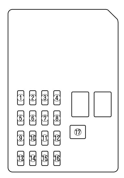 mazda 6 2004 fuse box diagram