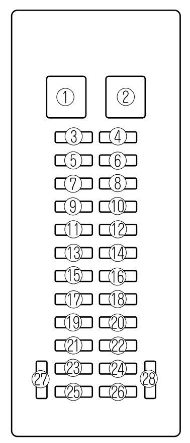 2002 Mazda Millenia Fuse Box Diagram Wiring Diagram